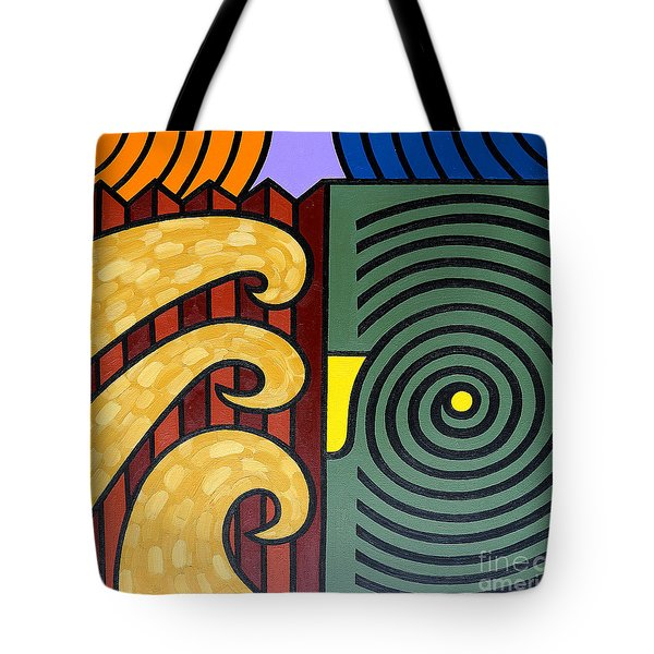 Cycle Of Nature Tote Bag by Patrick J Murphy