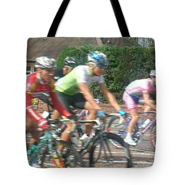 Cycle Race - Lytham Tote Bag
