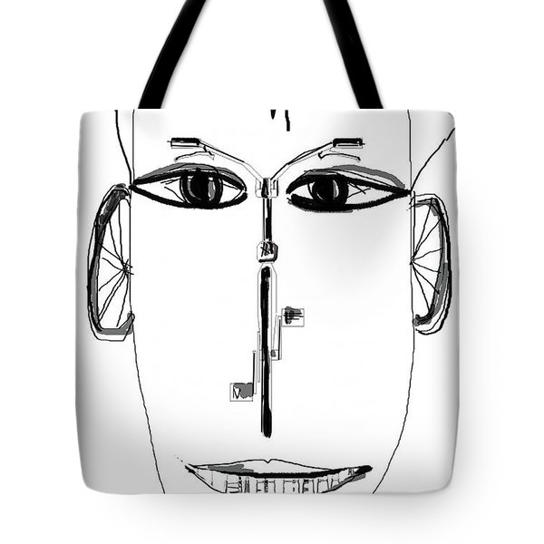 Cyclist Tote Bag by Sladjana Lazarevic