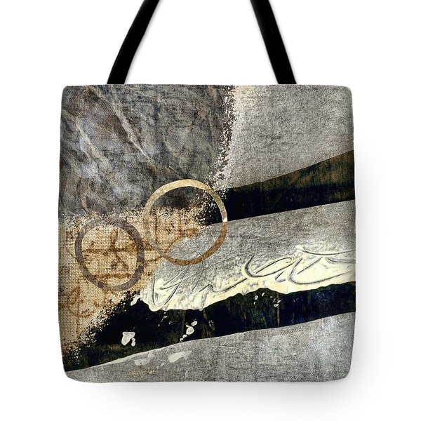 Cyclists Abstract Tote Bag