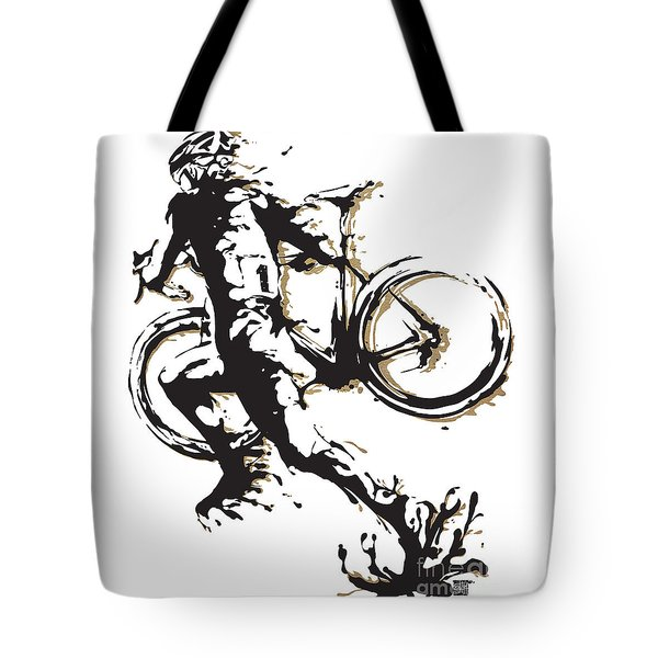 Cyclocross Poster1 Tote Bag by Sassan Filsoof