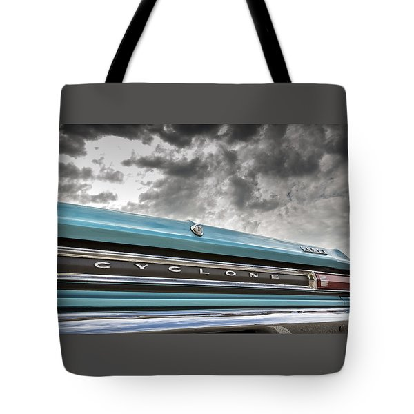 Cyclone Tote Bag by Caitlyn Grasso