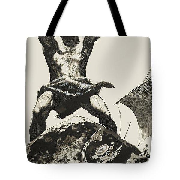 Cyclops Tote Bag by Angus McBride