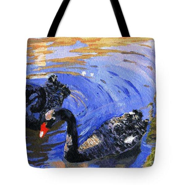 Cygnus Atratus Tote Bag