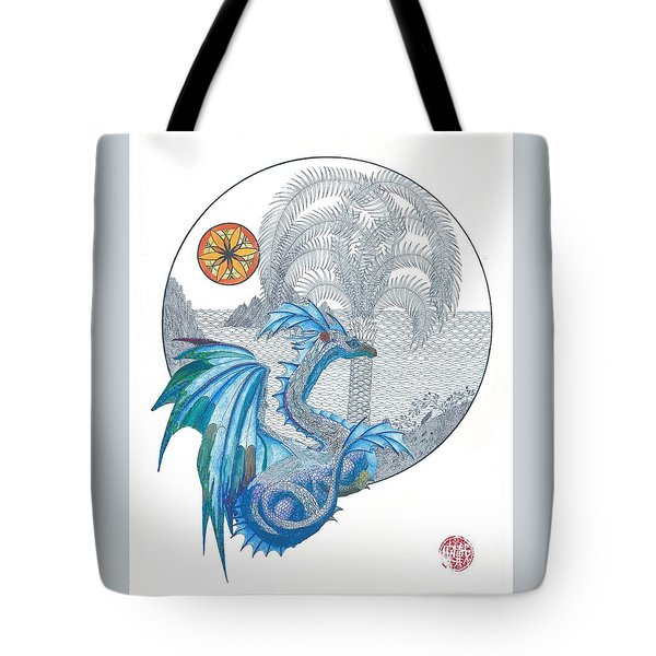 Tote Bag featuring the painting Cymru by Dianne Levy