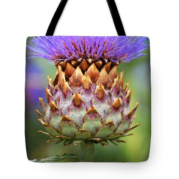 Cynara Cardunculus. Tote Bag by Terence Davis