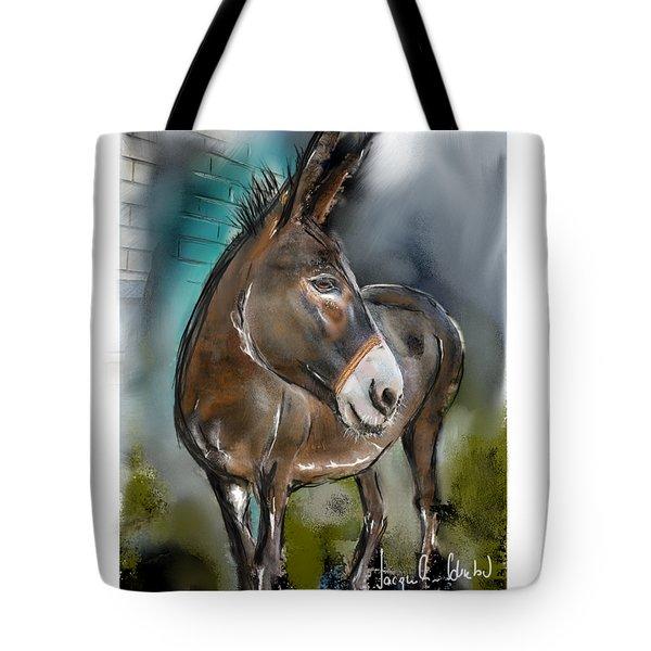Cyndi The Donkey Tote Bag