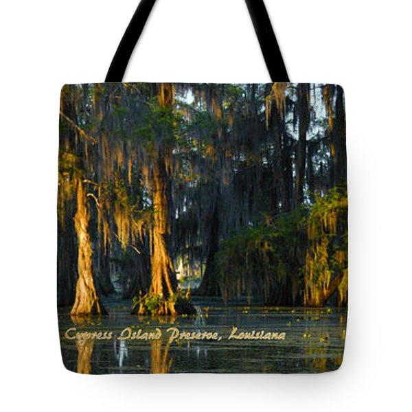 Cypress Island Gator Tote Bag