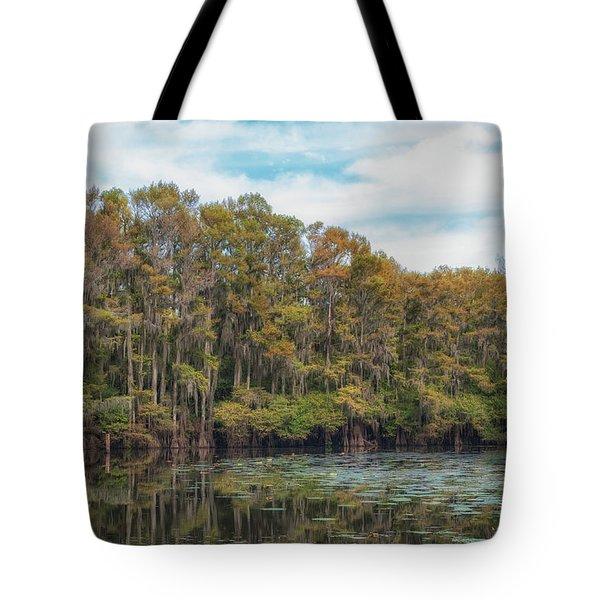 Cypress Jungle Tote Bag