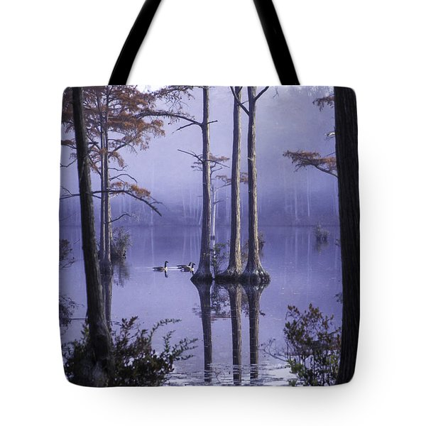 Cypress Pond 11 Tote Bag