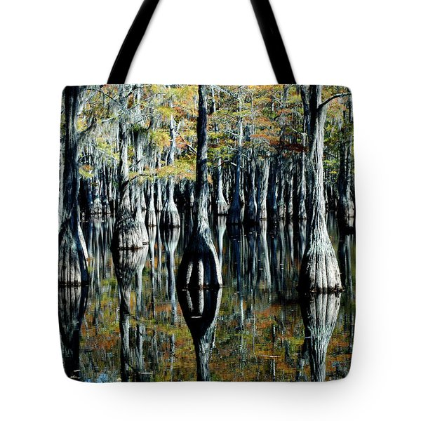 Cypress Reflections Tote Bag