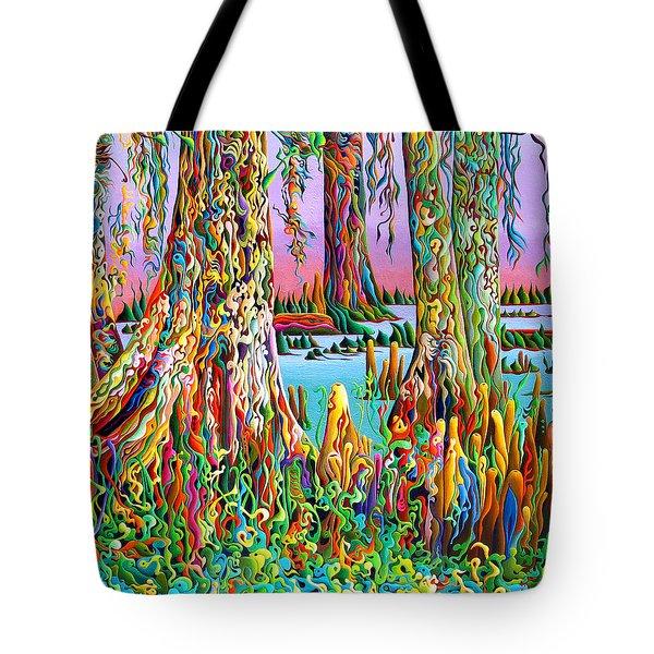 Cypress Spirit Rising Tote Bag