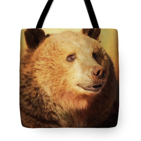 Cypress The Bear Tote Bag