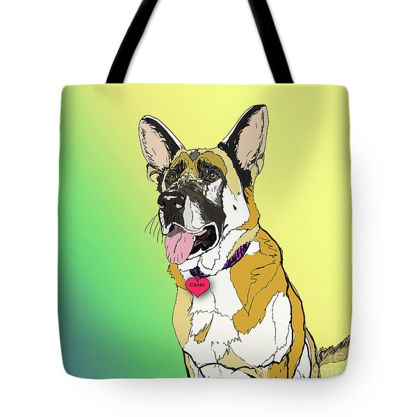 Czaki In Digi Tote Bag