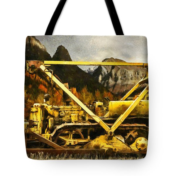 D-4 Cable Blade Cat Tote Bag