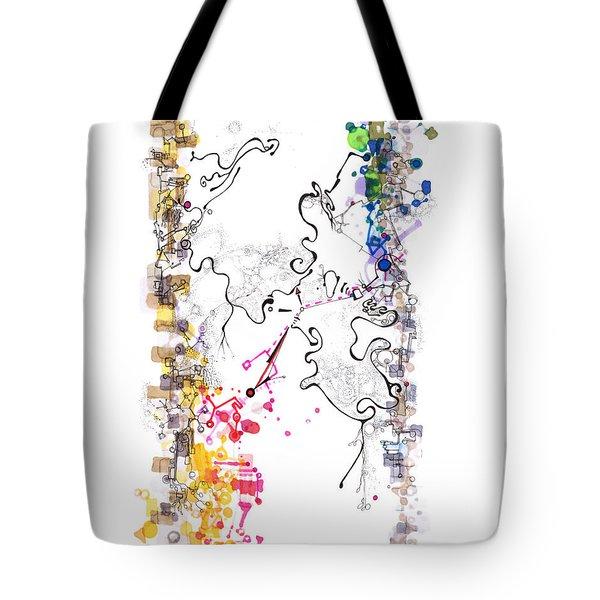 D Branes Tote Bag by Regina Valluzzi