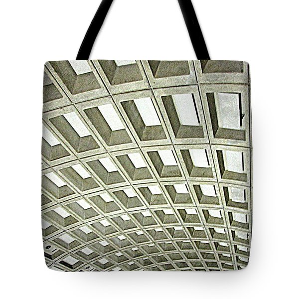 D C Metro 2 Tote Bag by Randall Weidner