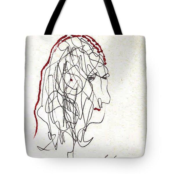 Da Vinci Drawing Tote Bag