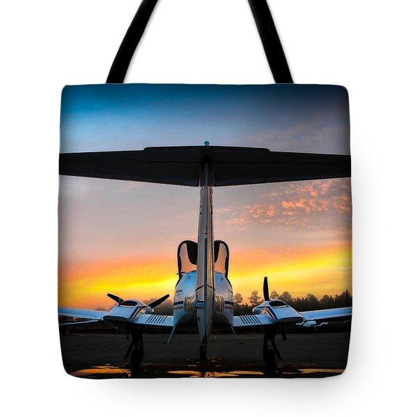 Da42 Facing The Dawn Tote Bag