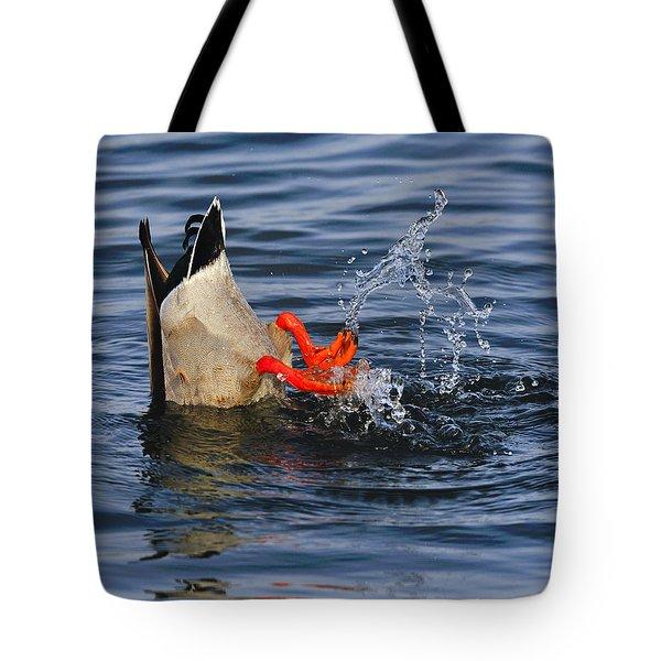 Dabbling - Mallard Tote Bag