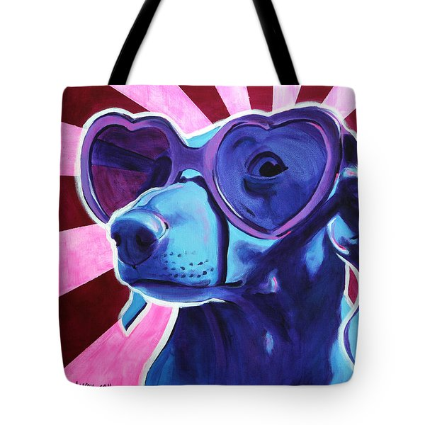 Dachshund - Puppy Love Tote Bag