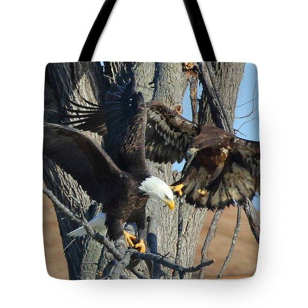 Tote Bag featuring the photograph Dad And Junior With Fish by Coby Cooper