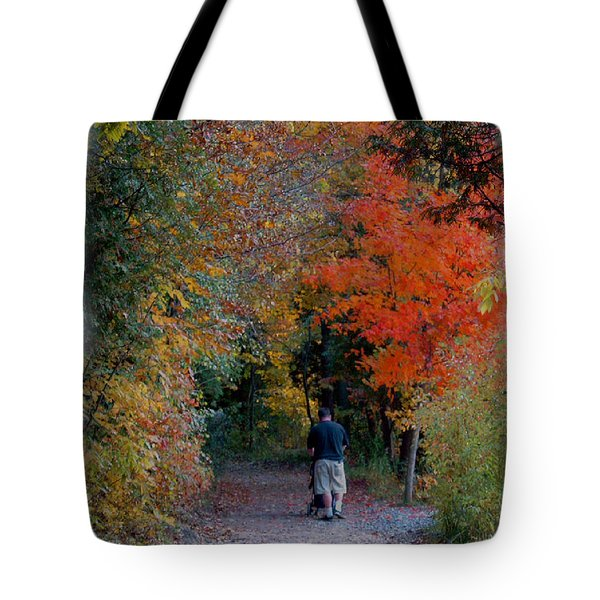 Daddy-daughter Time Tote Bag