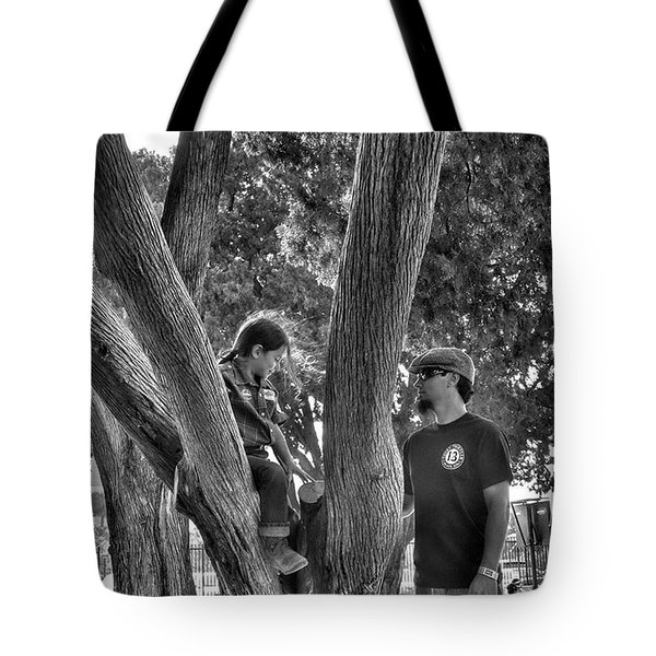 Daddy's Day Off  Tote Bag