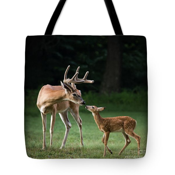 Tote Bag featuring the photograph Daddy's Girl by Andrea Silies