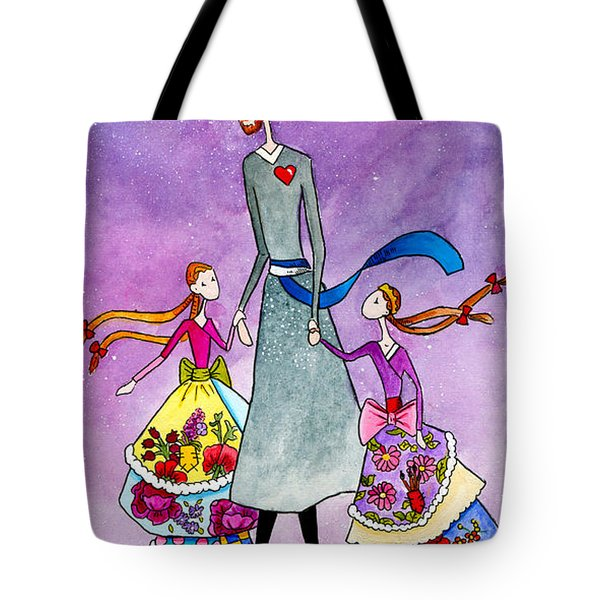 Daddy's Girls Tote Bag