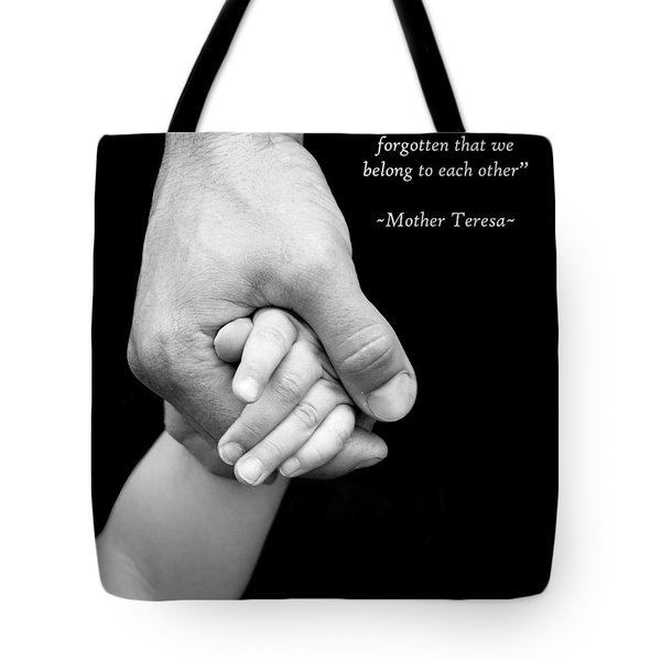 Daddy's Hand Tote Bag