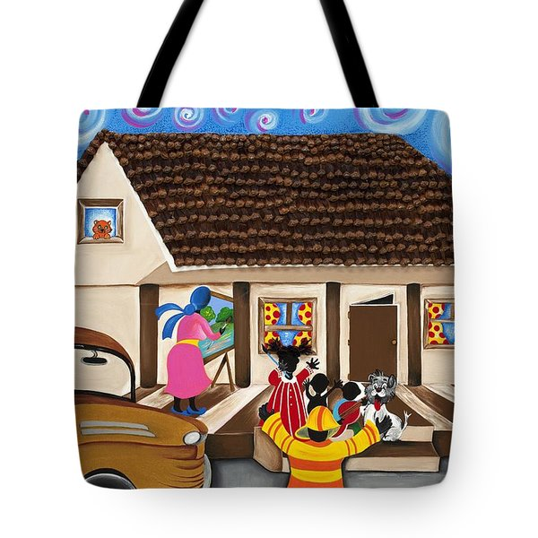 Daddy's Home Tote Bag