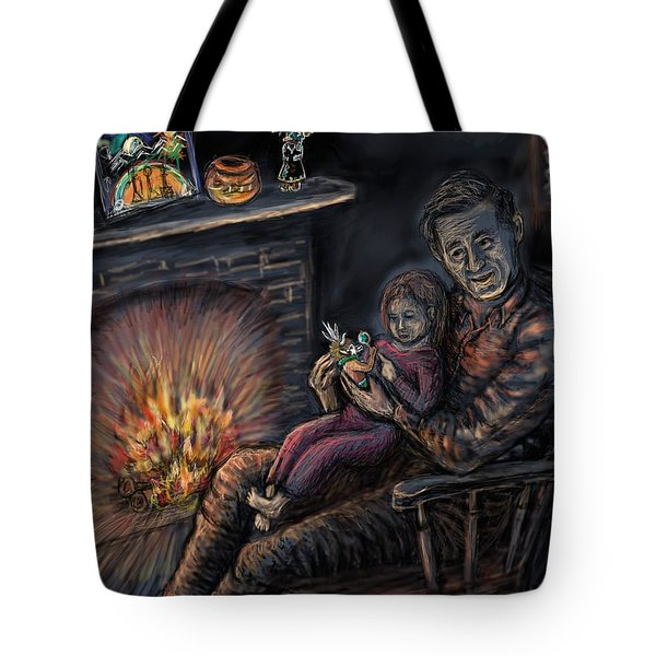 Daddy's Kachina Tales Tote Bag by Dawn Senior-Trask