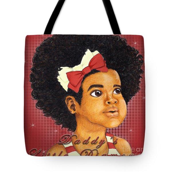 Daddy's Little Girl - Kappa Alpha Psi Tote Bag