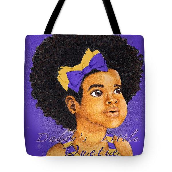 Daddy's Little Girl - Omega Psi Phi Tote Bag