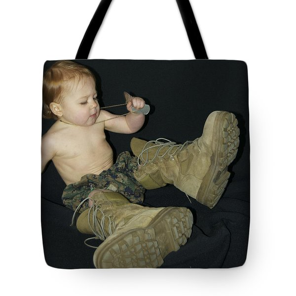 Daddys Shoes Tote Bag by Michael Peychich