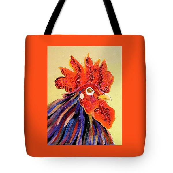 Tote Bag featuring the painting Dadoodle by Bob Coonts