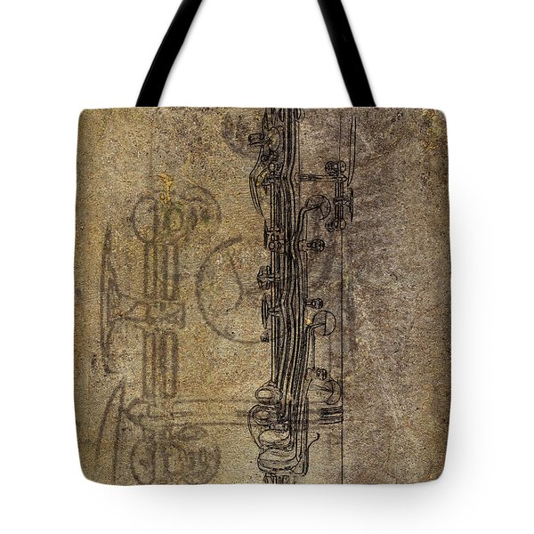 Dads Clarinet Tote Bag