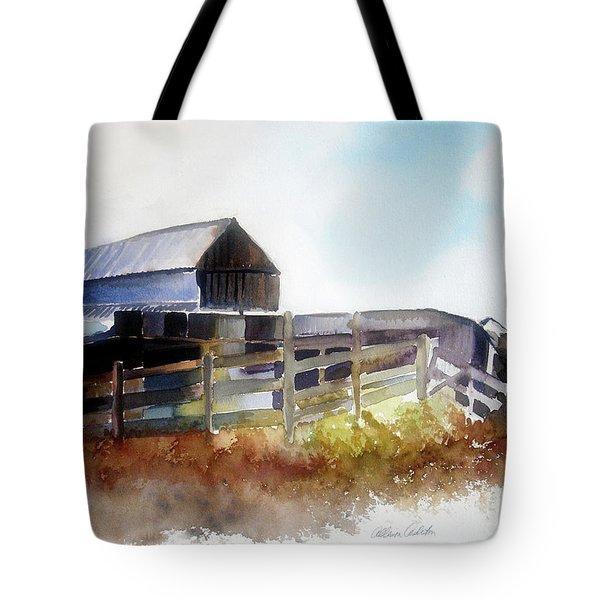 Dad's Farm House Tote Bag