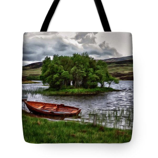 Dads Fishing Spot P D P Tote Bag by David Dehner