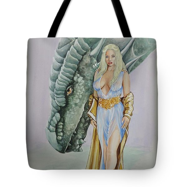 Daenerys Targaryen - Game Of Thrones Tote Bag
