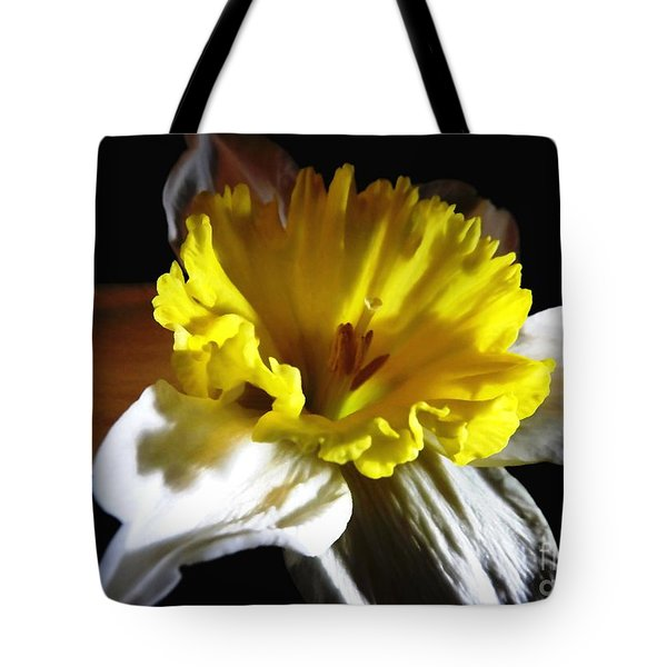 Tote Bag featuring the photograph Daffodil 2 by Rose Santuci-Sofranko