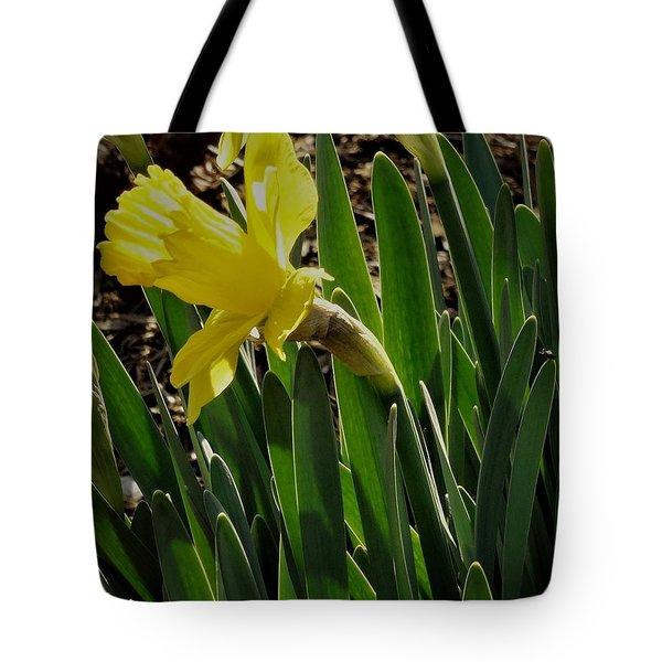 Daffodil Crown Tote Bag