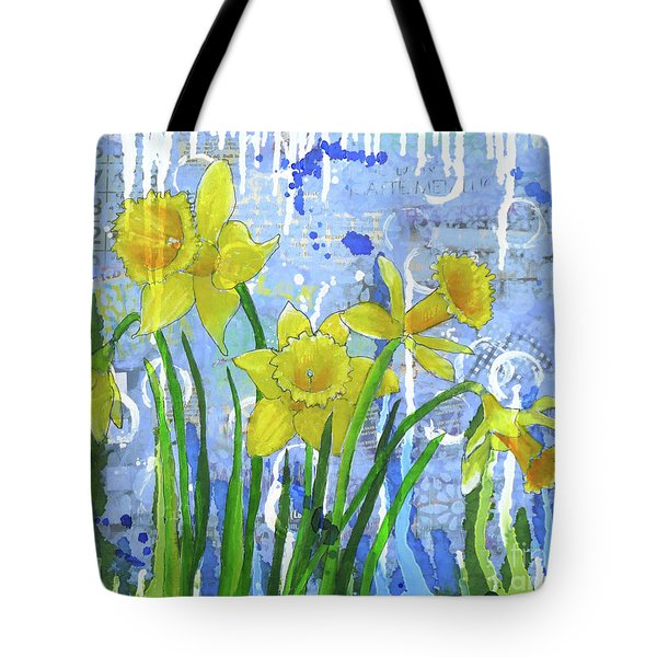 Daffodil Ding Dongs Tote Bag