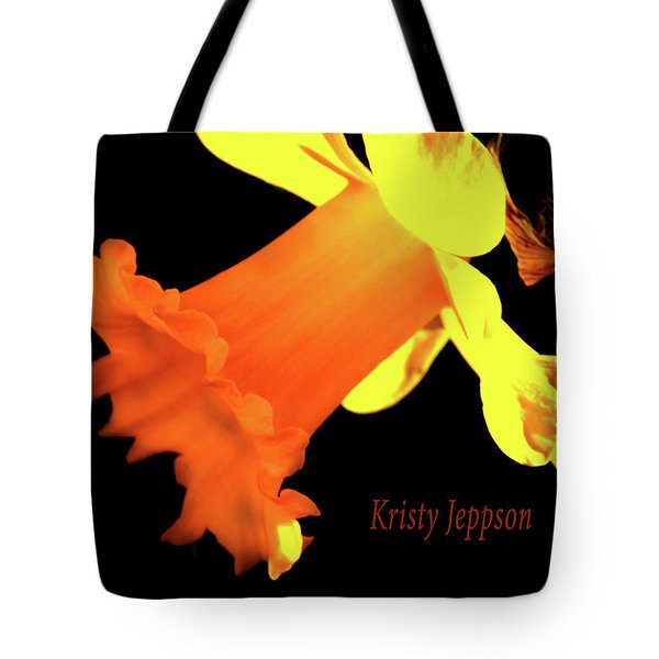 Daffodil Drama Tote Bag