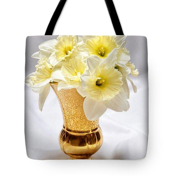 Daffodil Elegance  Tote Bag