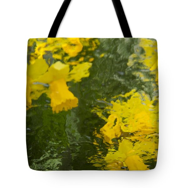 Daffodil Impressions Tote Bag by Jeanette French