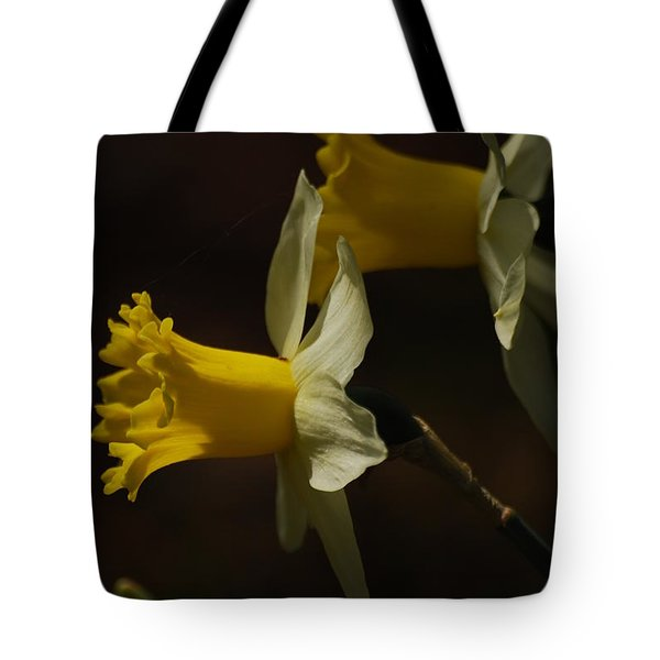 Tote Bag featuring the photograph Daffodil by Ramona Whiteaker