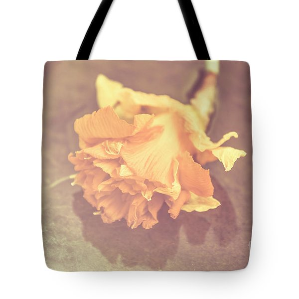 Daffodil Reflections  Tote Bag