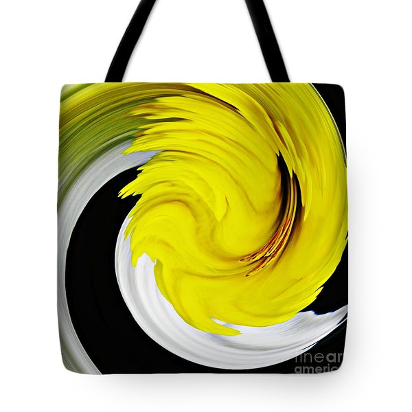 Daffodil Twist Tote Bag by Sarah Loft